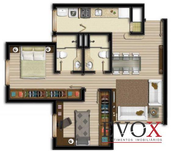 Evox Imóveis - Apto 1 Dorm, Boa Vista (EV1211) - Foto 8