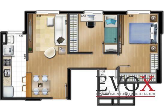 Evox Imóveis - Apto 2 Dorm, Santo Antonio (EV1309) - Foto 15