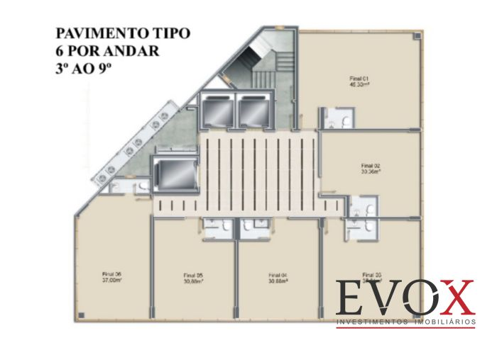 Moinhos Chroma - Sala, Rio Branco, Porto Alegre (EV1378) - Foto 10