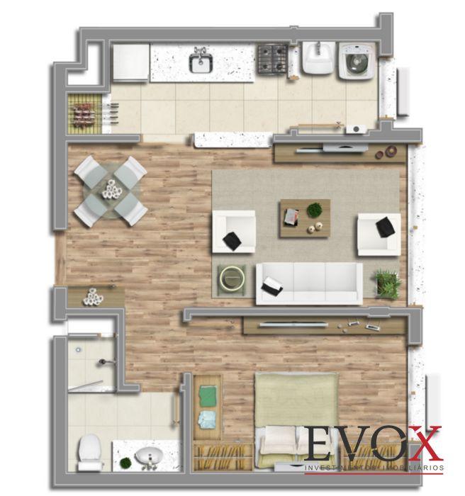 Edificio Vicenza - Apto 2 Dorm, Santana, Porto Alegre (EV1614) - Foto 3