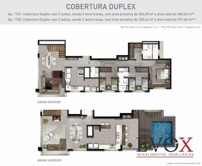 Cobertura 3 Dorm, Petrópolis, Porto Alegre (EV1695) - Foto 13