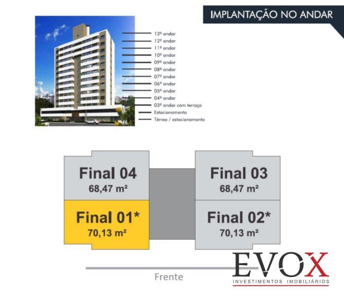 Evox Imóveis - Apto 2 Dorm, Menino Deus (EV1704) - Foto 4