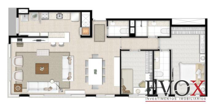 Hom Home Lindóia - 2 Dorm - 68m² - Apto 2 Dorm, Cristo Redentor - Foto 8