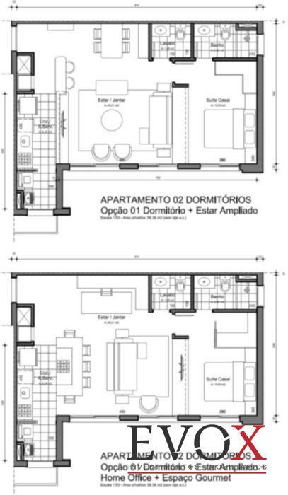 FWD Design Residence - Apto 2 Dorm, Jardim Botânico, Porto Alegre - Foto 11