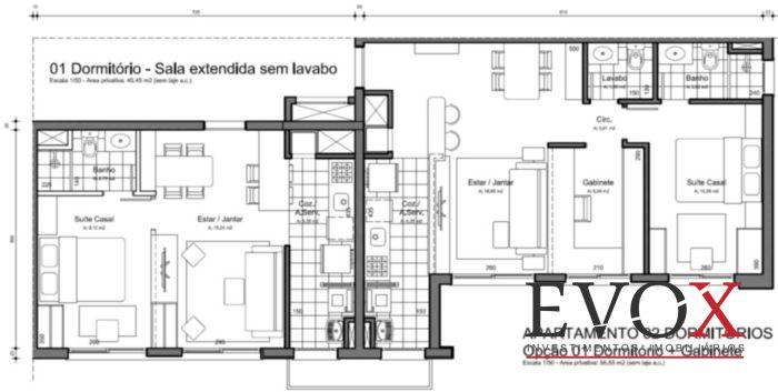 FWD Design Residence - Apto 2 Dorm, Jardim Botânico, Porto Alegre - Foto 16