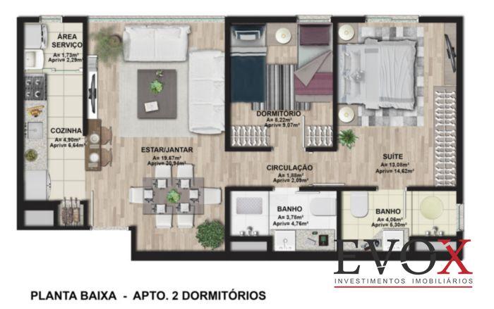 Ibiza Confortlife - Apto 3 Dorm, Cavalhada, Porto Alegre (EV2212) - Foto 10