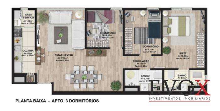 Ibiza Confortlife - Apto 3 Dorm, Cavalhada, Porto Alegre (EV2212) - Foto 11