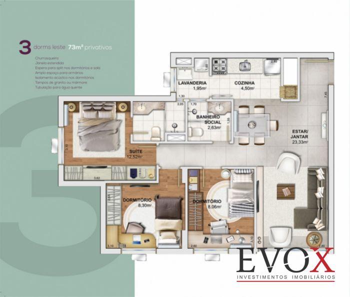 OXY Home Resort - Apto 2 Dorm, Camaquã, Porto Alegre (EV2305) - Foto 10