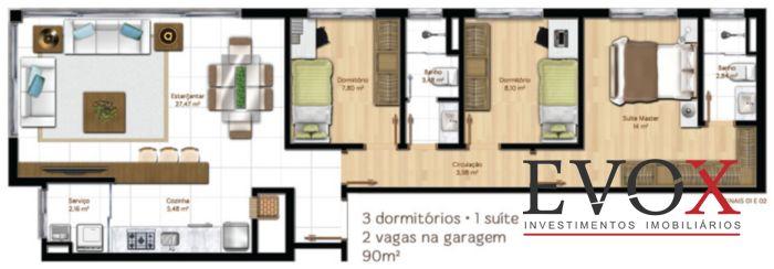 Mucio 60 - Apto 2 Dorm, Menino Deus, Porto Alegre (EV310) - Foto 9