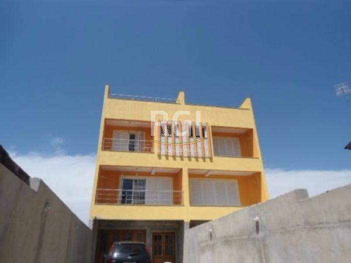 Sobrado com 4 dormitórios, com 3 vagas de garagem no bairro Jardim Itu Sabará em Porto Alegre.   O sobrado conta com 4 andares, Quatro dormitórios, 2 suítes (uma com hidromassagem e cromoterapia e outra com as esperas prontas para receber um ofurô), cinco banheiros, garagem fechada para três carros, mais três carros no pátio da frente, além da área de serviço, e jardim de aproximadamente 85 m. Construção de primeira linha e fino acabamento.  Espera elétrica pronta para splits em todas as peças, um terraço com linda vista, duas sacadas. Iluminação LED nas escadas, gesso em todas as peças, piso frio no living e piso térmico, imitando madeira, nos dormitórios, água quente em todas as torneiras, inclusive no tanque, granito nas escadas e rodapés das sacadas que são de porcelanato, tomadas 110 e 220.  Agende uma visita e confira!