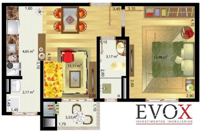 Residencial Villa Rosa - Apto 3 Dorm, Igara, Canoas (EV507) - Foto 4