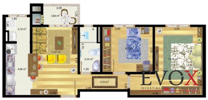 Residencial Villa Rosa - Apto 3 Dorm, Igara, Canoas (EV507) - Foto 5