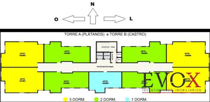 Residencial Villa Rosa - Apto 3 Dorm, Igara, Canoas (EV508) - Foto 7