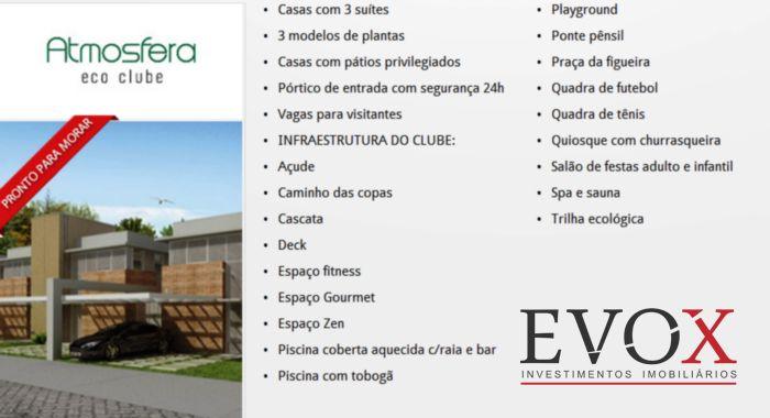Atmosfera Eco Clube - Casa 3 Dorm, Agronomia, Porto Alegre (EV570) - Foto 4