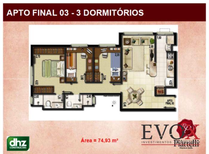 Riserva Piattelli - Apto 3 Dorm, Partenon, Porto Alegre (EV588) - Foto 2