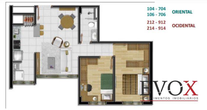 Innside Home Resort - Apto 2 Dorm, Tristeza, Porto Alegre (EV596) - Foto 14