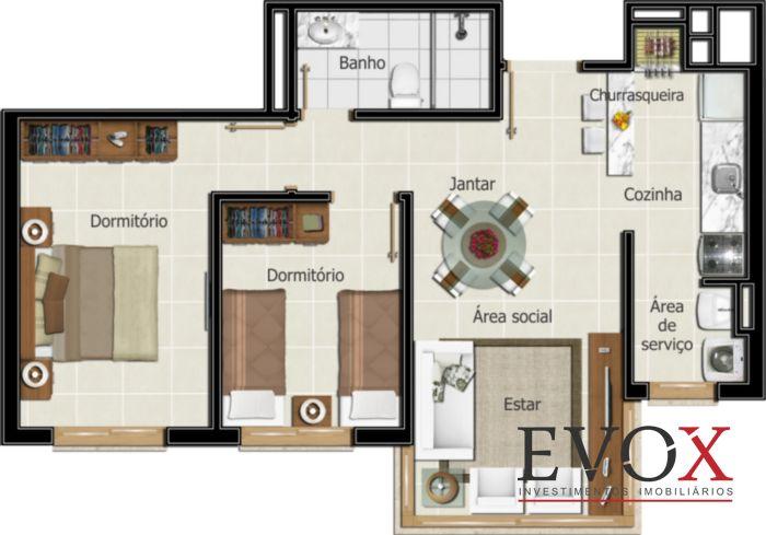 Vila Bergamo - Apto 2 Dorm, Santana, Porto Alegre (EV625) - Foto 14