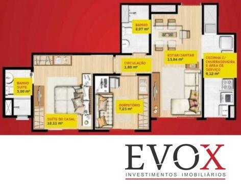 Evox Imóveis - Apto 2 Dorm, Cavalhada (EV810) - Foto 3