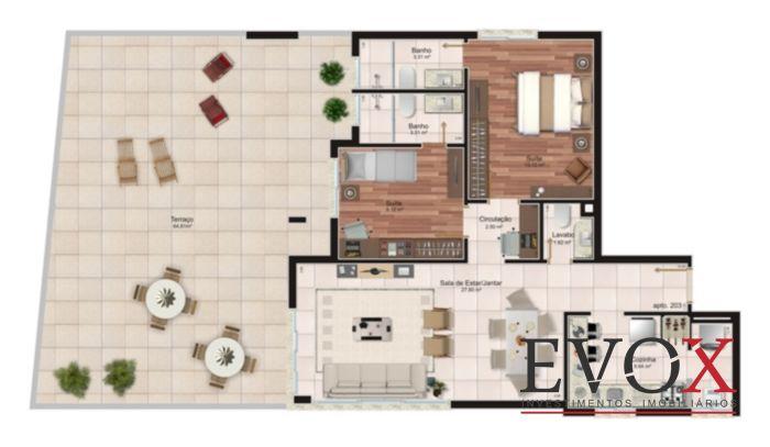 1115 - Cobertura 2 Dorm, Vila Jardim, Porto Alegre (EV883) - Foto 6